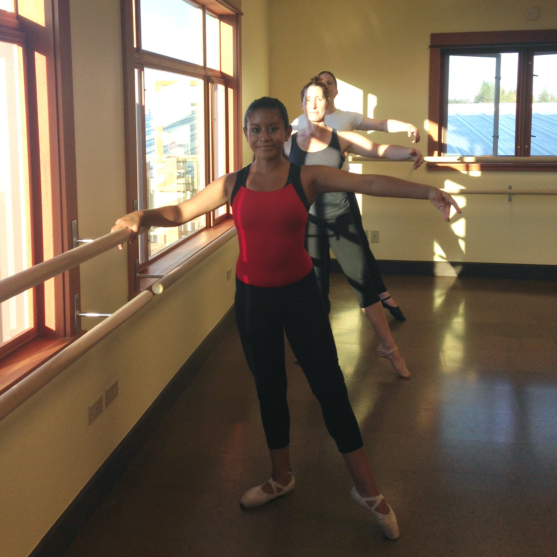 Dancers At Barre