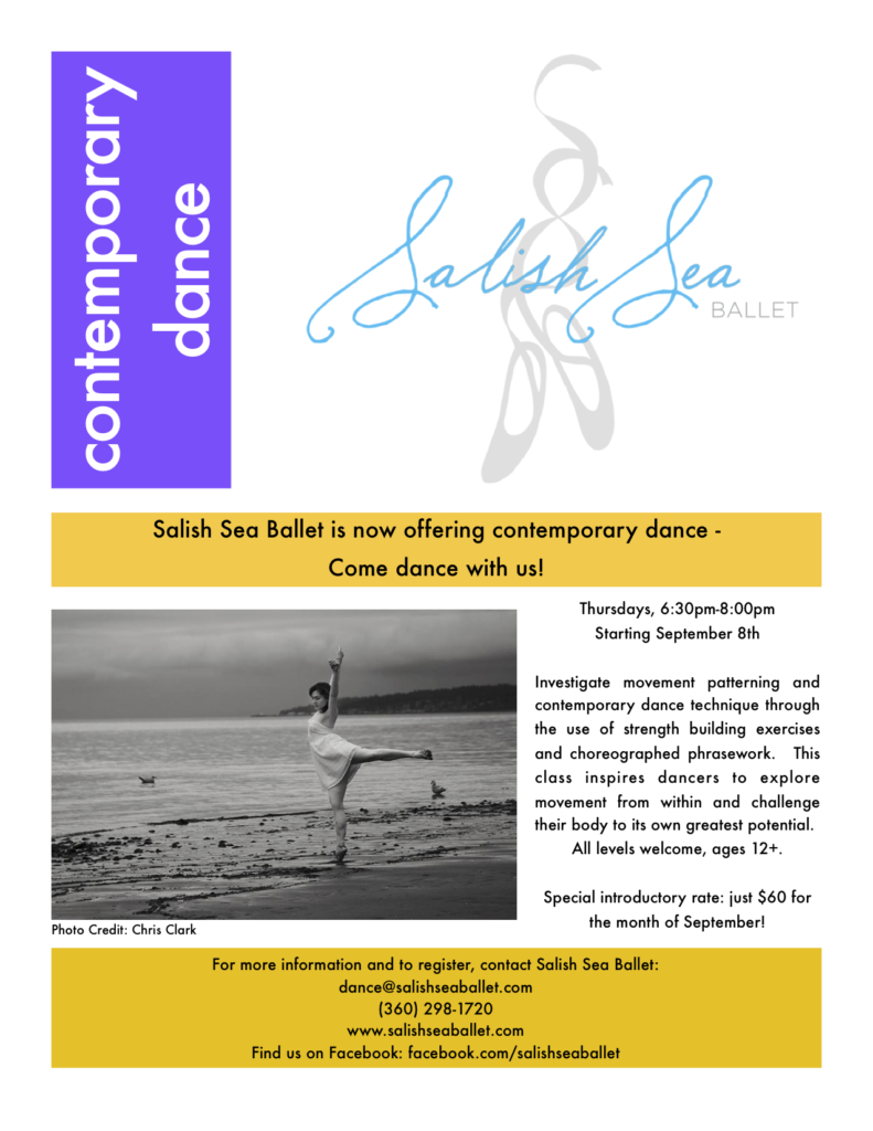 Contemporary Dance Flyer